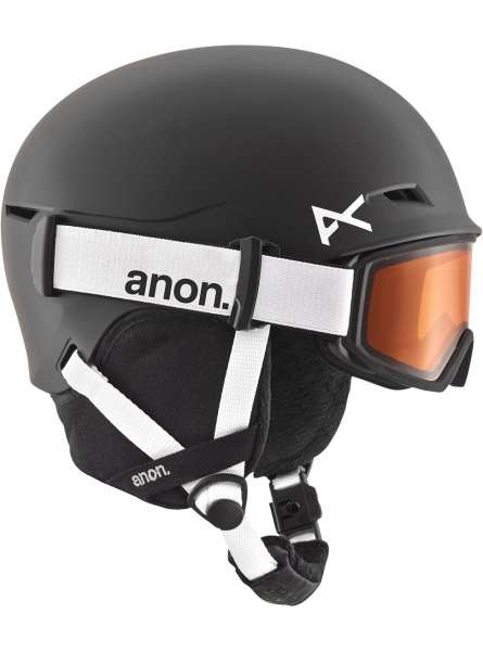 Image of Anon Define Skihelm - Black EU