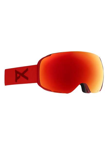 Image of Anon M2 With Spare Skibrille - red sonarred