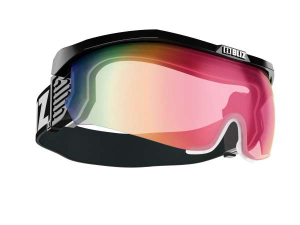 Image of Bliz Proflip MAX Sportbrille - Black - Pink w Red Multi + Clear+Brown - Cat.1-3