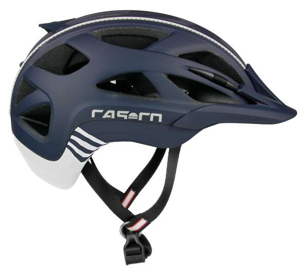 Image of Casco Activ 2 Velohelm - marine-weiss matt
