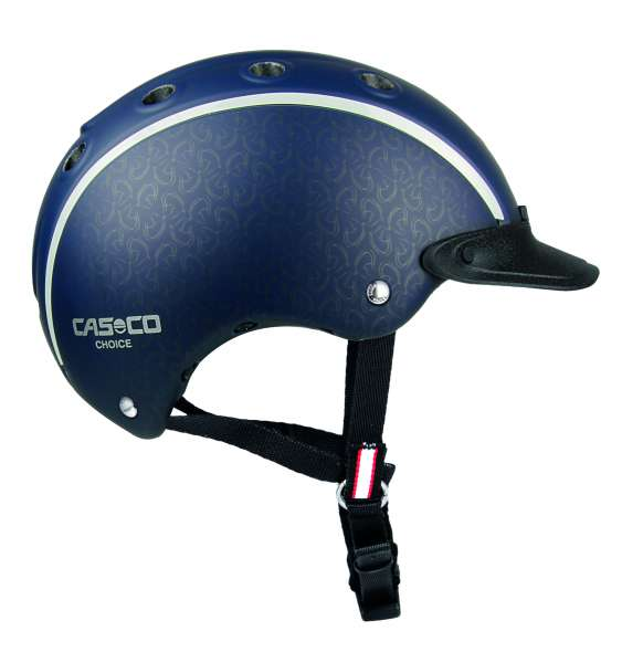 Image of Casco Choice Reithelm - Blau