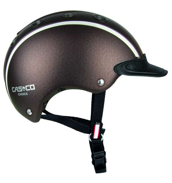 Image of Casco Choice Reithelm - Braun