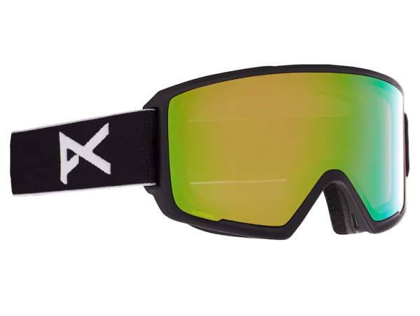 Image of Anon M3 With Spare Skibrille - Black PERCEIVE Variable Green Cloudy Pink