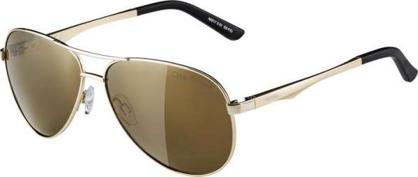 Image of Alpina A 107 Sportbrille - gold gold mirror