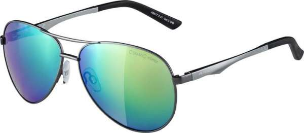 Image of Alpina A 107 Sportbrille - gun matt green mirror