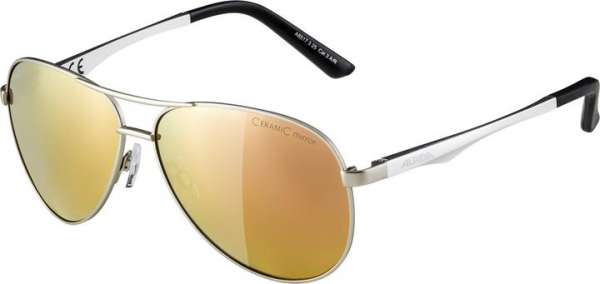 Image of Alpina A 107 Sportbrille - silver matt rose-gold mirror
