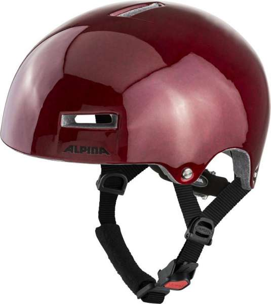 Image of Alpina Airtime Velohelm - red