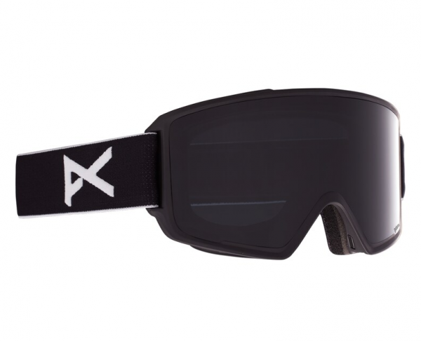 Image of Anon M3 With Spare Skibrille - Black Polar Smoke PERCEIVE Variable Violet