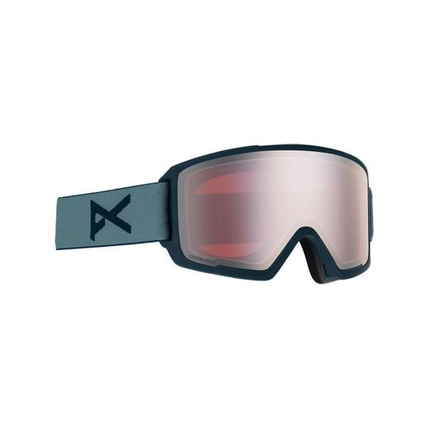 Image of Anon M3 With Spare Skibrille - Spr Gray/ Sonar Silver