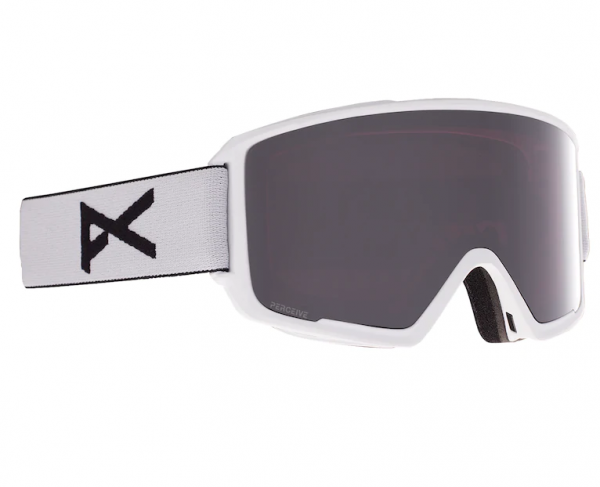 Image of Anon M3 With Spare Skibrille - White PERCEIVE Sunny Onyx Variable Violet