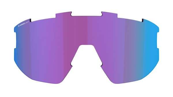 Image of Bliz Ersatzglas für Fusion und Matrix Sportbrille - Begonia w Blue Multi Nordic Light Cat 2