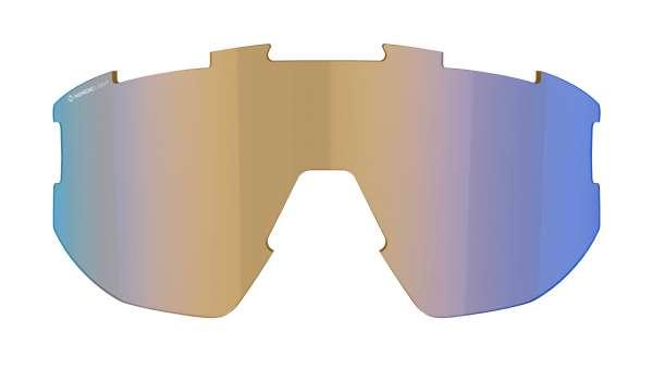 Image of Bliz Ersatzglas für Fusion und Matrix Sportbrille - Coral w Blue Multi Nordic Light Cat 1