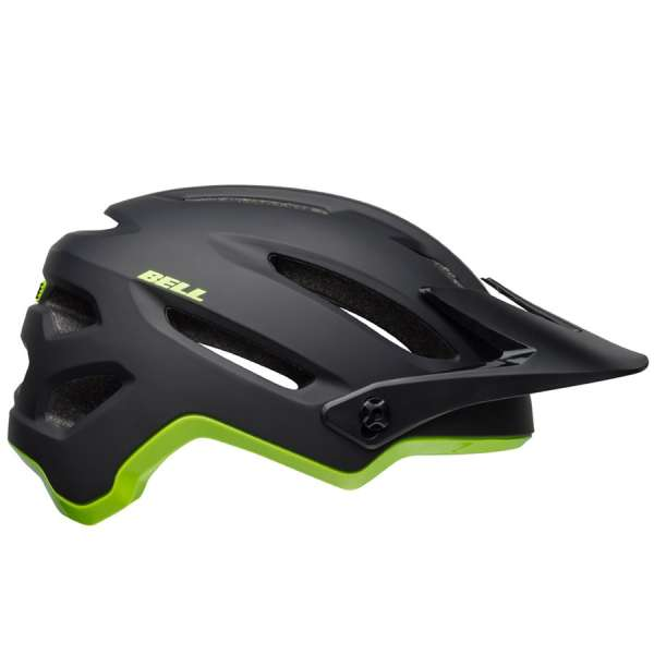 Image of Bell 4forty MIPS Velohelm matte/gloss black/bright green
