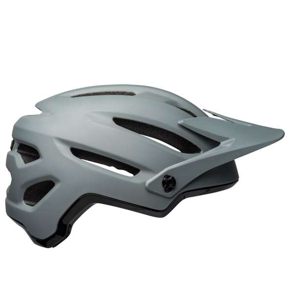 Image of Bell 4forty MIPS Velohelm - Matte/Gloss Gray/Black