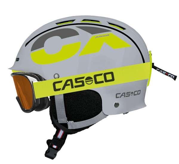 Image of Casco CX-3 Junior Skihelm - grau-neon - OHNE SKIBRILLE