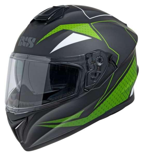 Image of iXS 216 2.0 Integralhelm - schwarz matt-grün