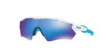 Oakley Radar Ev XS Path Sonnenbrille - Polished White Sapphire Iridium