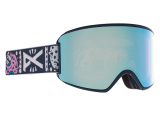 Anon WM3 With Spare Damen Skibrille - Noom Variable Blue Cloudy Pink